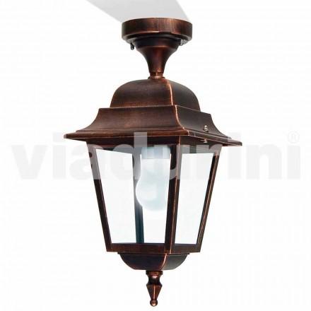 Venkovní stropní svítidlo vyrobené z hliníku, vyrobené v Itálii, Aquilina