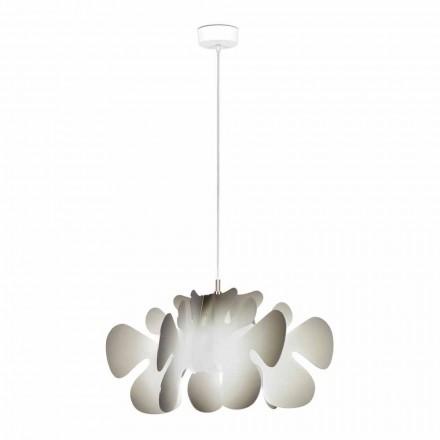 Závěsné svítidlo s odstíny šedé dekorum, L.55xP.55cm, Debora