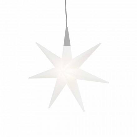 Vnitřní závěsná lampa s moderním designem, hvězda - Pandistar