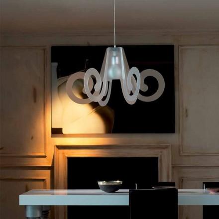 Design závěsná lampa v methakrylátového diaemtro 75 cm Rania