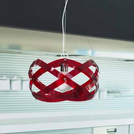 Lustr moderní designový methakrylát diam.53 cm Vanna