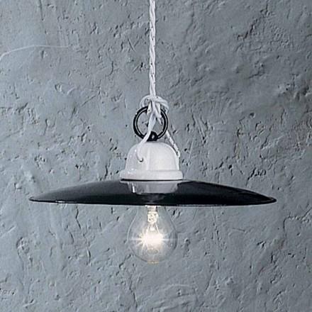 Lampa rustikální keramické konstrukce Ferroluce Potenza