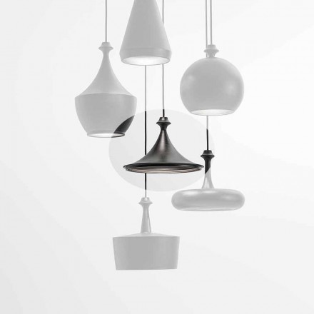 Keramická závěsná LED lampa - Lustrini L1 Aldo Bernardi