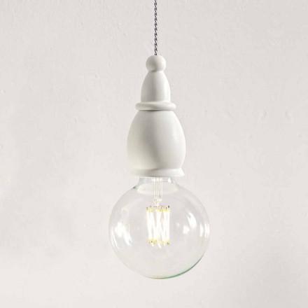 Ošuntělá keramická lampa vyrobená v Itálii - osud Alda Bernardiho