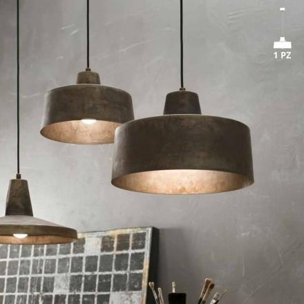 Lampa konstrukce zavěšení na starožitný železa Jean Il Fanale