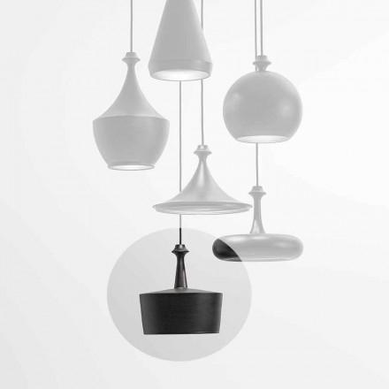 LED keramická závěsná lampa - L6 Glitter Aldo Bernardi