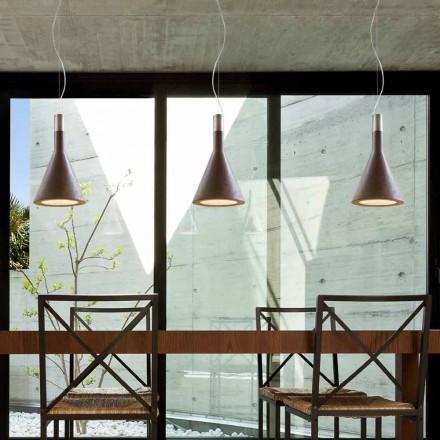 Lampa v cementové kaše Funnel Aldo Bernardi