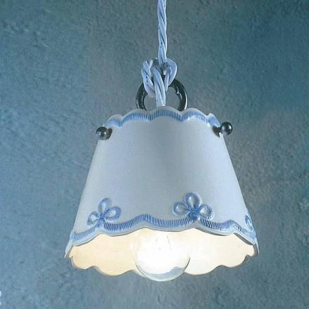 Lampa keramické suspenze s zbarvený pás Ferroluce