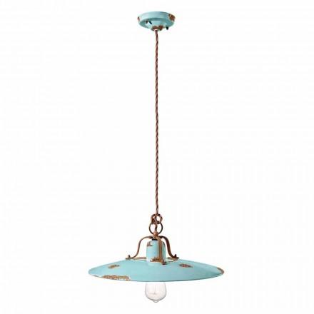 Lampa keramická suspenze a kovový zemi Emily Ferroluce