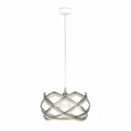 Lampa methakrylát suspenze s dekorem, diam.40 cm, Vanna