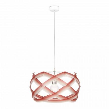 Lampa methakrylát suspenze o průměru 53 cm dekorem Vanna