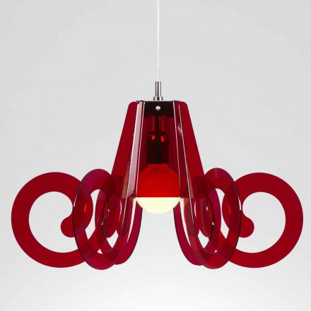 Závěsné svítidlo v moderním designu methakrylátového pr. 55cm Livia