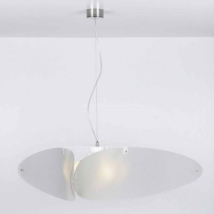 Závěsná lampa moderní methakrylátu, o průměru 116 cm, Taire