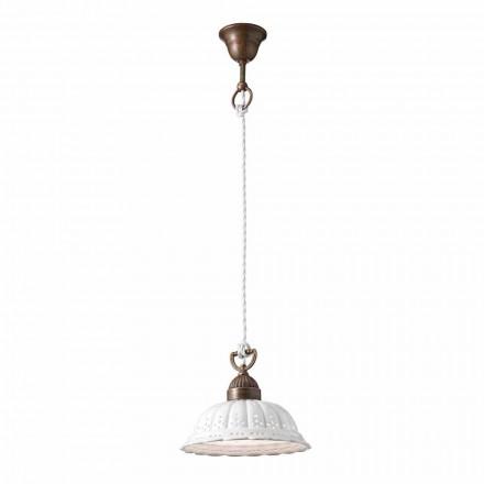 na svobodu závěsná lampa keramická O22 Anita Il Fanale