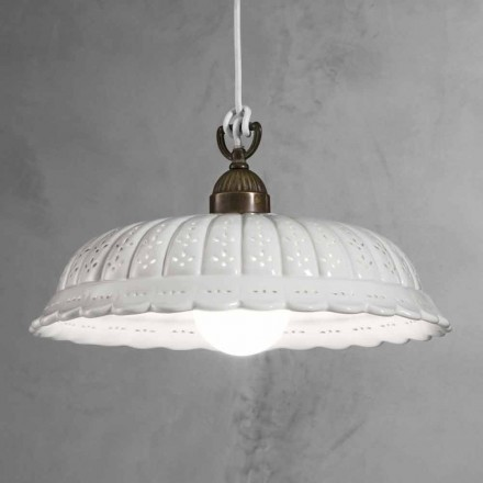 na svobodu závěsná lampa keramická O42 Anita Il Fanale