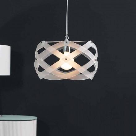 Současná závěsná lampa v metakrylát o průměru 40 cm Vanna