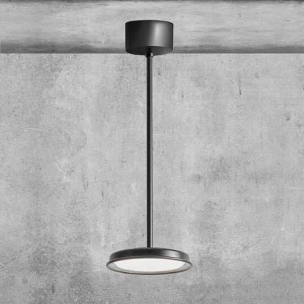 Moderní kovová závěsná lampa vyrobená v Itálii - Mymoons Aldo Bernardi