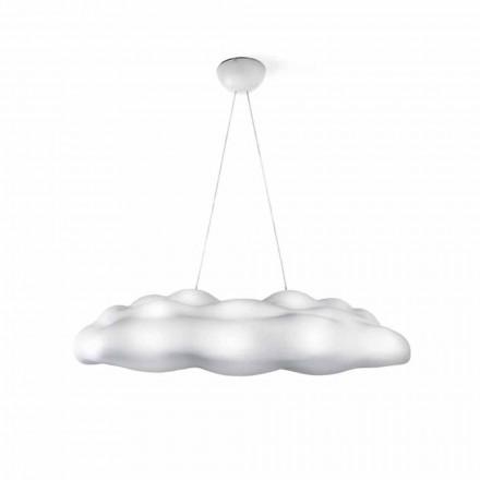Venkovní závěsná lampa z plastového cloudu - Nefos od společnosti Myyour