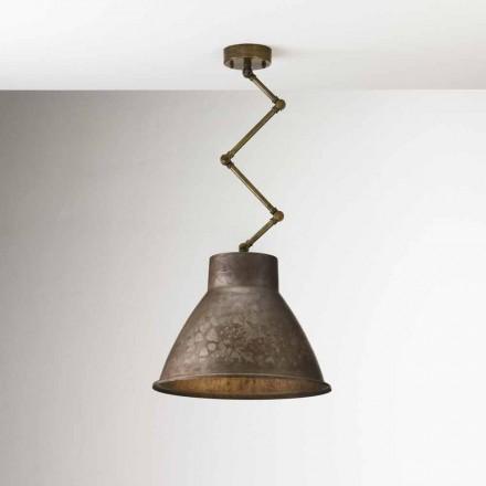 Závěsné svítidlo průmyslové styl Loft Media Il Fanale