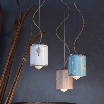 Závěsná lampa řemeslník vinobraní Ferroluce