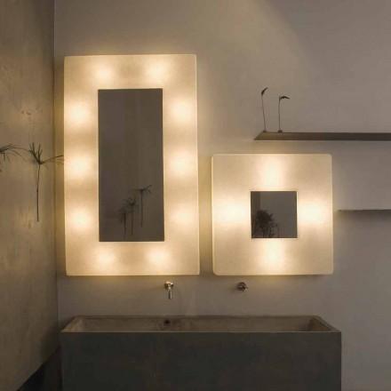 Designová svítidla se zrcadlem In-es.artdesign Ego v nebulitu