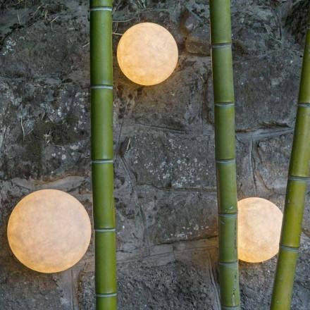 Nástěnná venkovní svítidla In-es.artdesign A. Moon Out v nebulitu