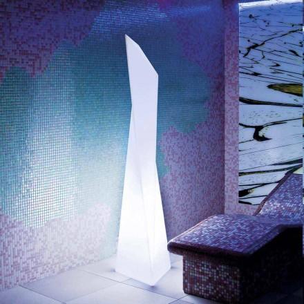 Prisma bílá venkovní lampa Slide Manhattan, vyrobená v Itálii