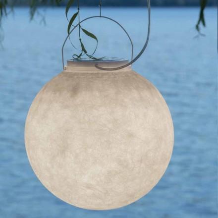 Venkovní závěsná svítilna In-es.artdesign Luna Out v nebulitu