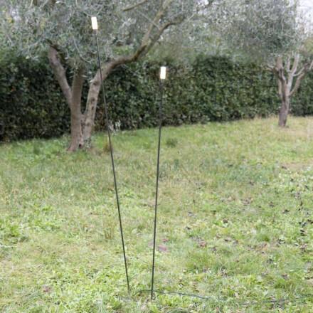 Venkovní lampa z lakovaného železa Minimální design vyrobený v Itálii - Filo