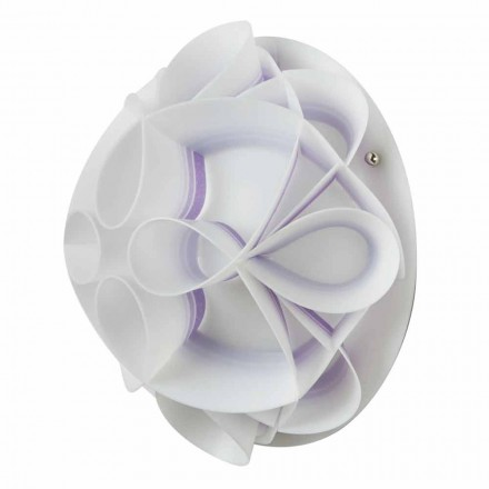 Nástěnné svítidlo moderního designu kupolí, průměr 28 cm, Lena