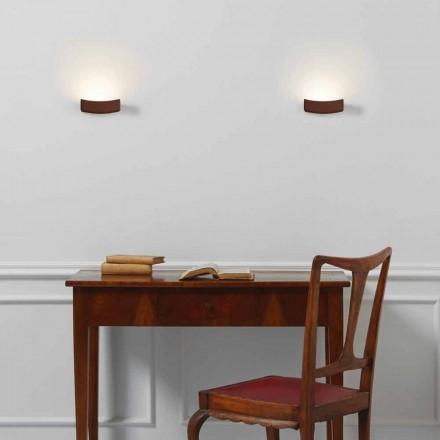 Lampa moderní design ocelové stěně 13xH 3.5x Sp.10 cm Osea