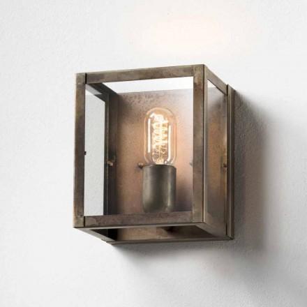 Iron nástěnné svítidlo průmyslová style London Il Fanale