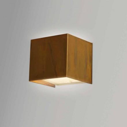 Nástěnné svítidlo v moderním designu Brass 9x 9x H sp.9 cm Venus