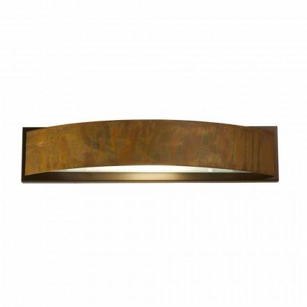 Nástěnné svítidlo v mosazi a oceli H 49x 10 cm xsp.9 Blandine