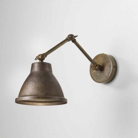Nastavitelné nástěnné svítidlo v železa Loft Il Fanale