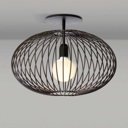 Moderní stropní svítidlo z lakované oceli, 48xH 35 cm, Heila