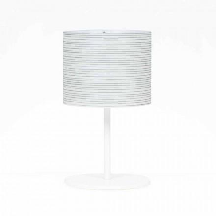 Stolní lampa s moderním designem dekorací, průměr 30 cm, Debby