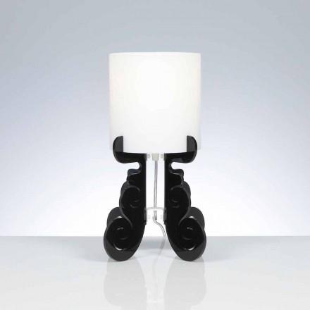 Stolní lampa s válcovou stínidlo, průměr 18,5 cm, Samanta