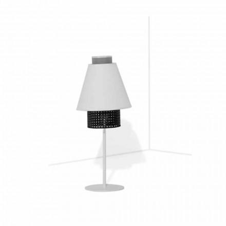 Stolní lampa s kovovou konstrukcí moderního designu vyrobené v Itálii - námořník