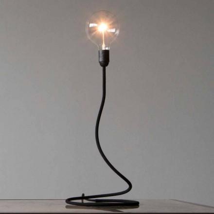 Stolní lampa s měděnou strukturou Moderní design vyrobený v Itálii - minimum