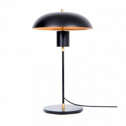 Designérská stolní lampa ze železa a hliníku vyrobená v Itálii - Marghe