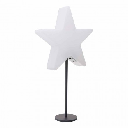 Stolní lampa moderního designu, hvězda s podstavcem nebo bez něj - Littlestar