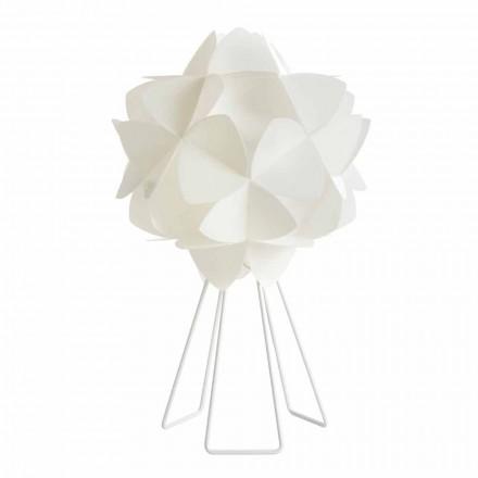 Stolní lampa Moderní pearl bílý design, průměr 46 cm Kaly