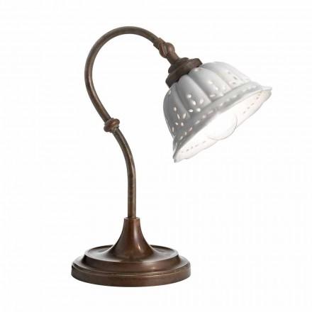 Lampa Secesní keramická stolní Anita Il Fanale