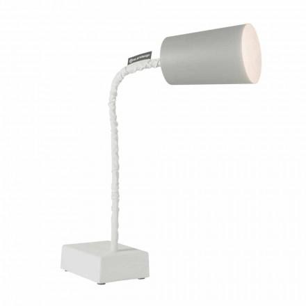 Stolní svítidlo In-es.artdesign Barva T2 flexibilní cementová stonka