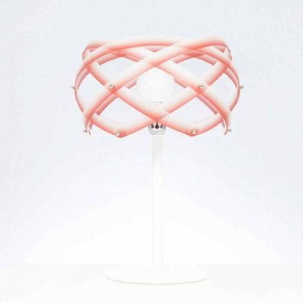 Lampa methakrylát stůl s nuancí dekorem, diam.40 cm, Vanna
