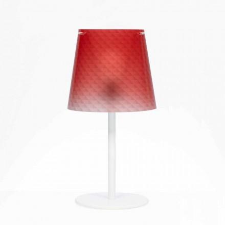 Polykarbonát Stolní lampa, diamond dekorace, Rania pr. 30 cm
