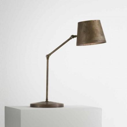 Nastavitelný průmyslové stolní lampa Il Fanale Reporter