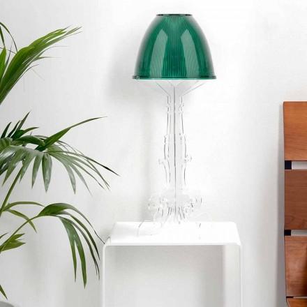 Liberty design lampa na čtení / stůl s plexisklem, Caneva