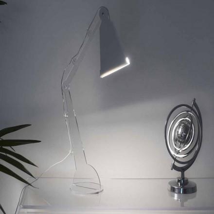 Stolní lampa Tecno s lampou LED, Flero